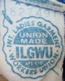 Vintage Fashion Guild Label Resource Ilgwu Vintage Labels Labels Clothing Labels