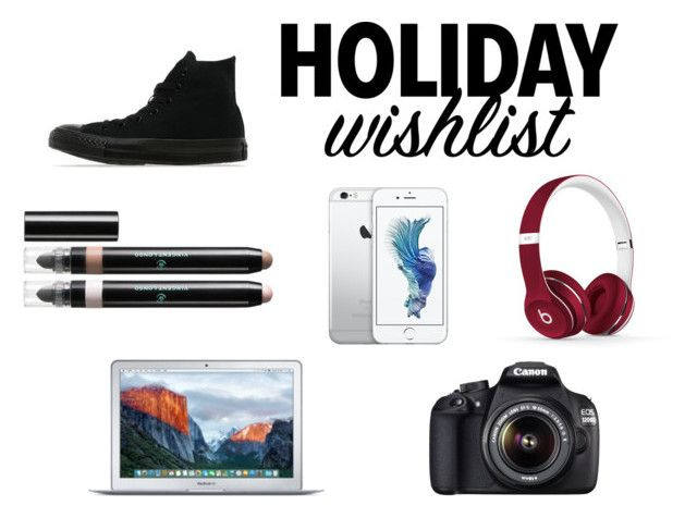 """""""What's On Your Wish List?"""" by cristiana-s ❤ liked on Polyvore featuring Beats by Dr. Dre, Canon, Converse, Vincent Longo, contestentry and 2015wishlist"""