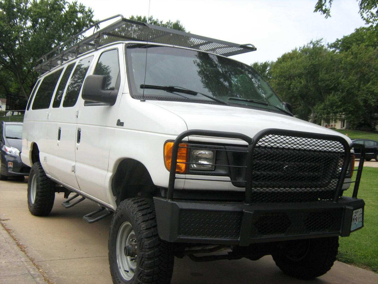 b5ec630e06 2003 Ford E-Series Van 2003 Ford E350 Quigley 4X4 Extended Van 7.3 ...