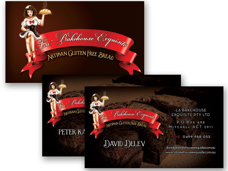 La Bakehouse Exquisite Business Card Design