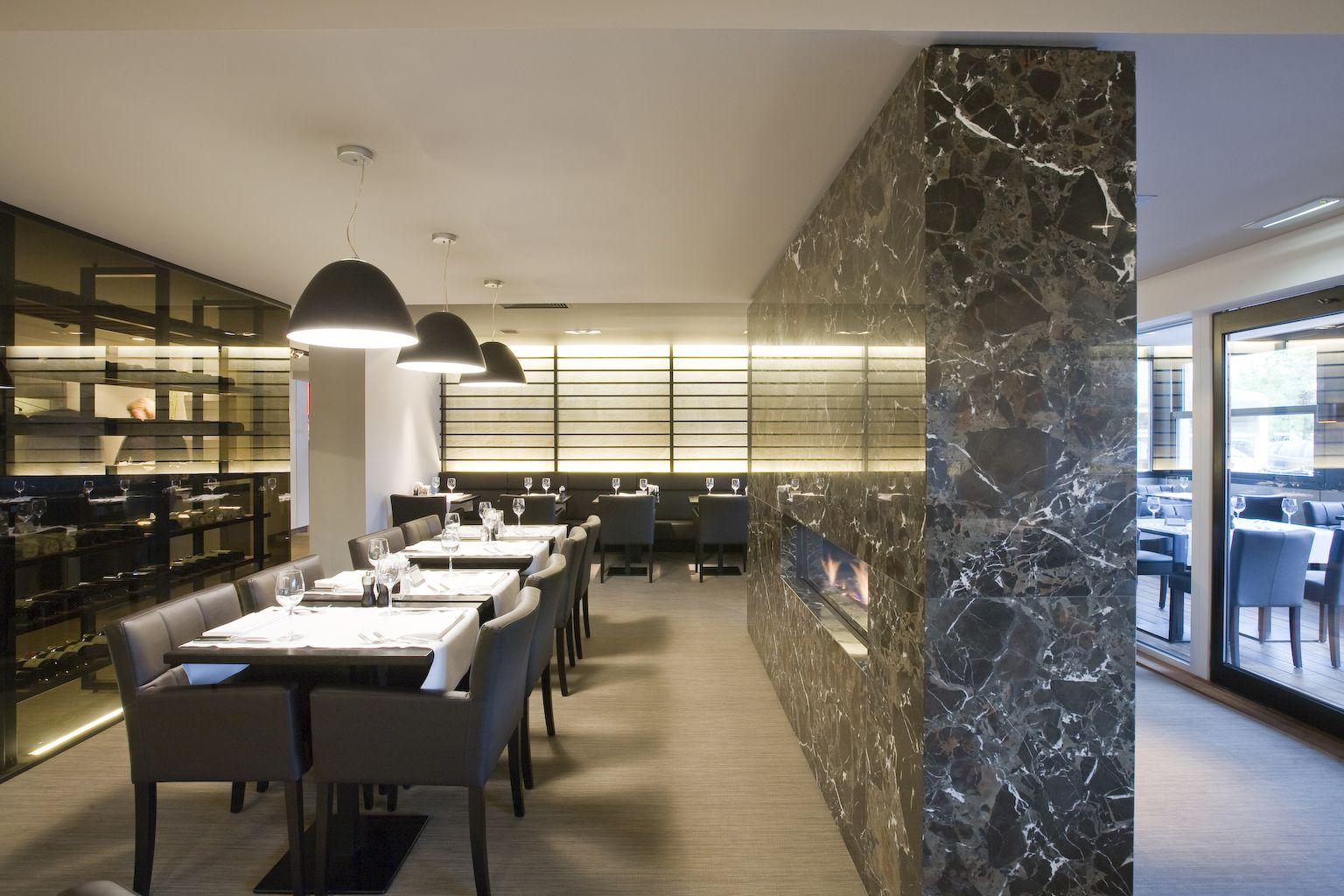 Luminous Cafe and Restaurant interior lighting Design | Capstone ...