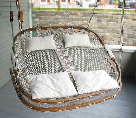 Check Out The Deal On Double Hammock Chair With Footrest At Remarkable Things At Stowe Craft In 2020 Hammock Chair Hanging Hammock Chair Swinging Chair