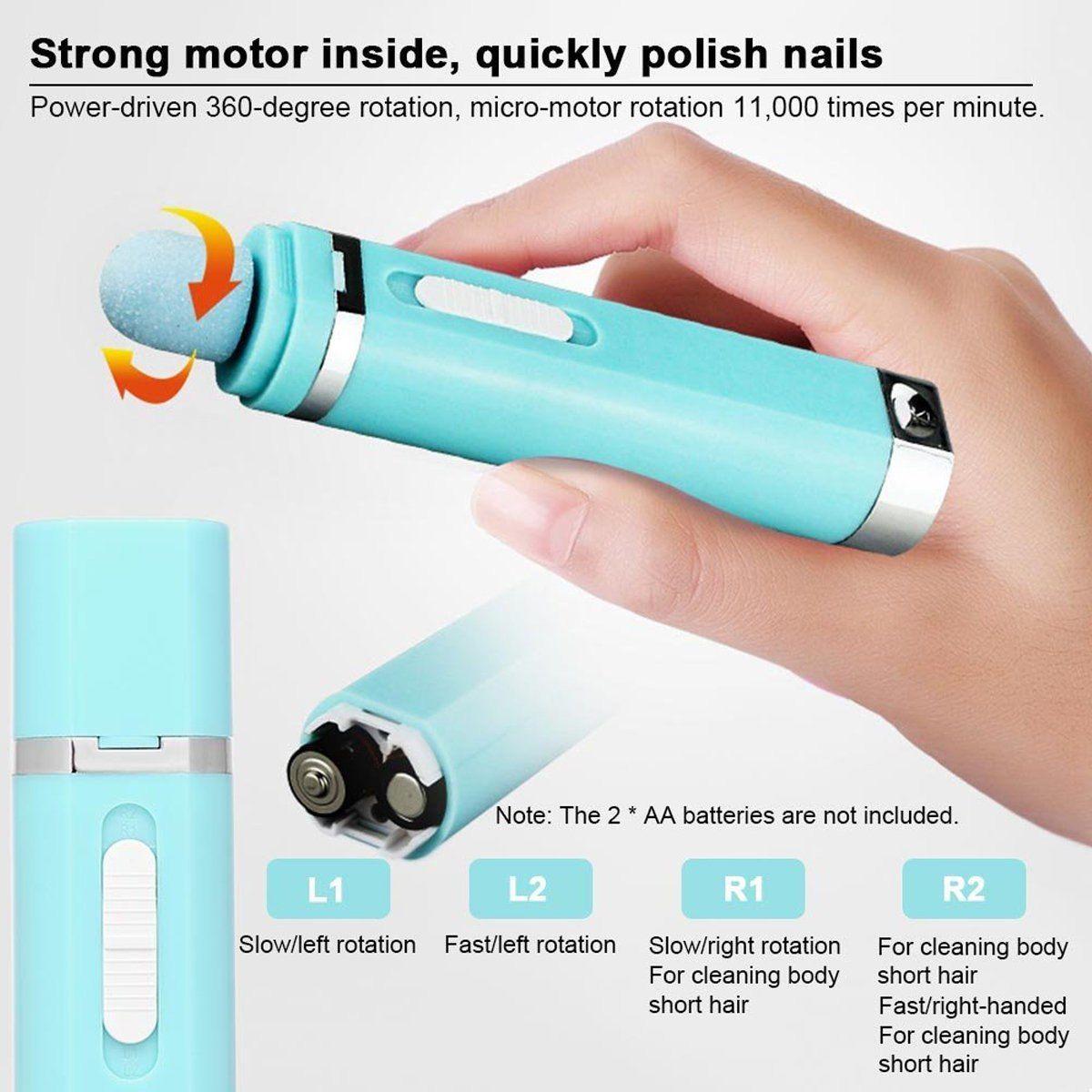 9 in 1 nail drill machine portable manicure pedicure pen