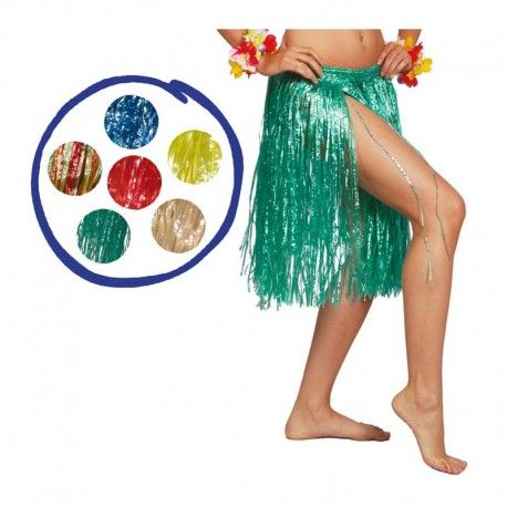 cf80950d5 Disfraces hawaianos mujer   Falda hawaiana ideal para tus fiestas ...