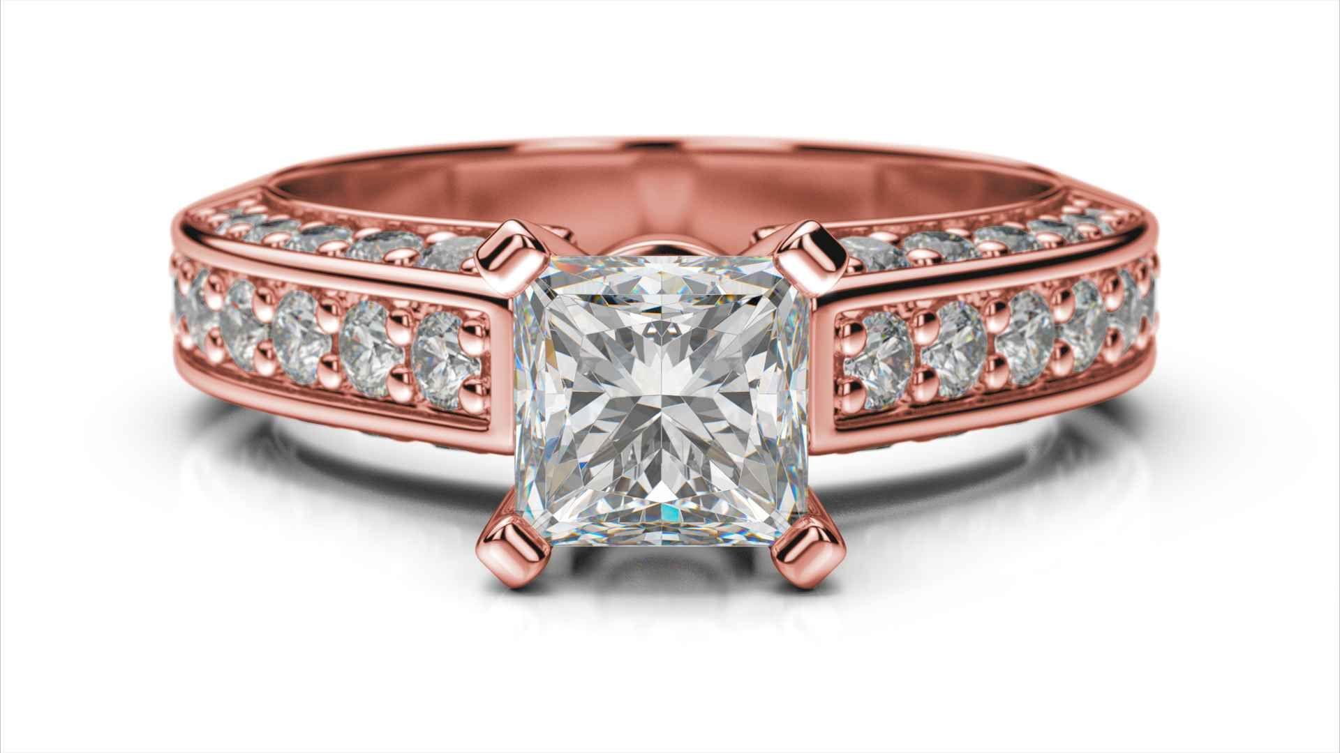 Zásnubný prsteň Gemma princess 2613f93ee00
