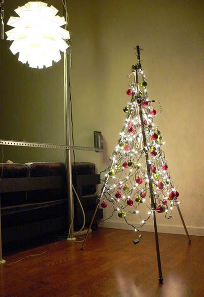 arboles de navidad poco decorahoy minimalista