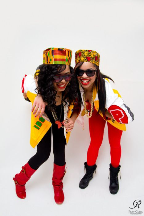 Afro-centric look. Halloween next year | 80s party outfits ...