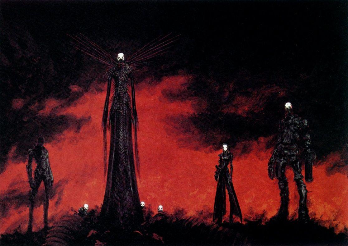 Blame Tsutomu Nihei Gothic Wallpaper Robot Concept Art