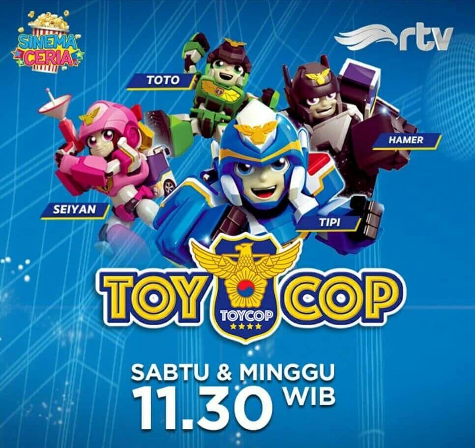 Serial Toy Cop Tayang Di Rtv Aksi Para Mobil Polisi Mainan Mobil Polisi Lucu Hades