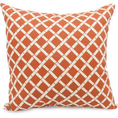 Majestic Home Goods Bamboo Extra Decorative Pillow 24 inch
