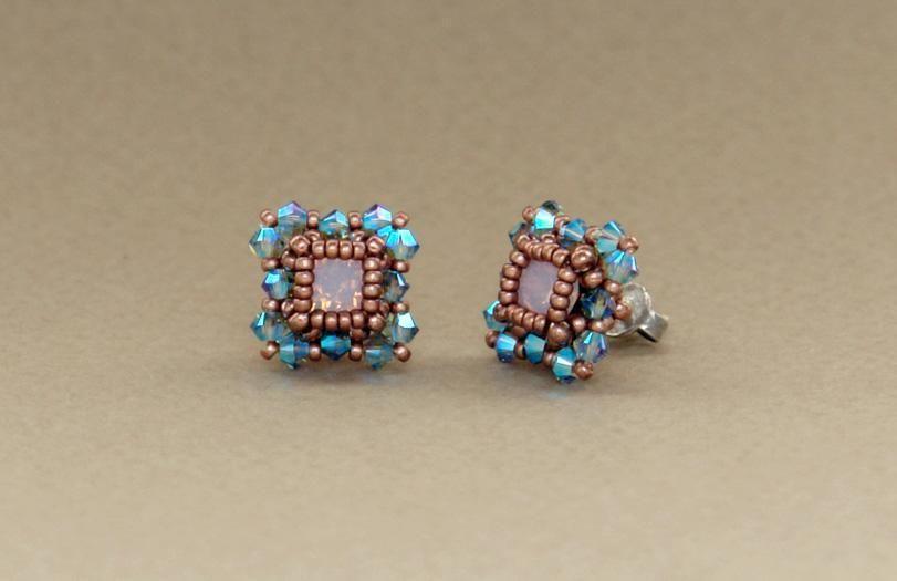 5 Name Jewelry Beaded Stud Earrings Tutorial Earring