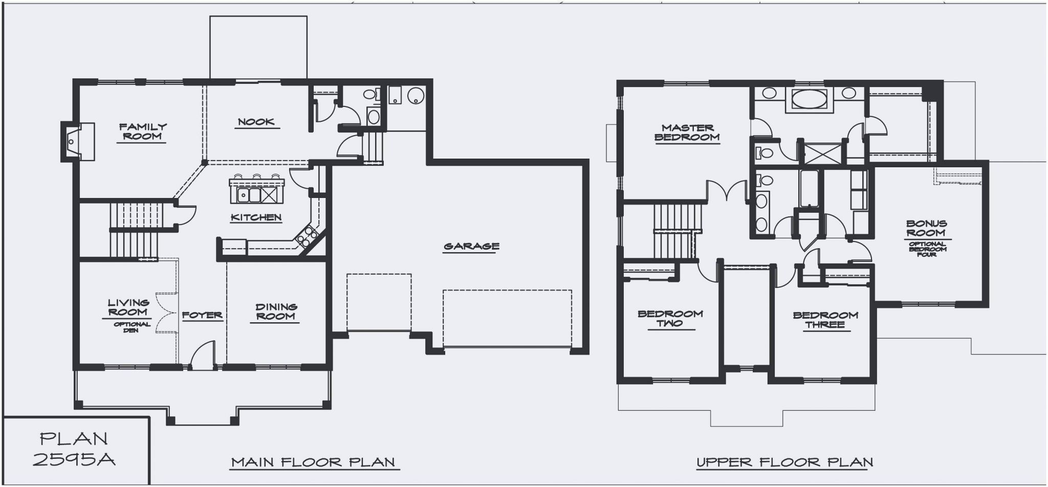Split Floor Plan Single Storey House Plans Garage House Plans House Plans With Photos