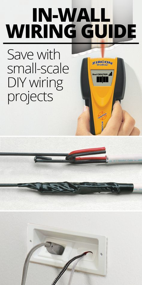 Inwall wiring guide for home AV Speakers Cable and Walls