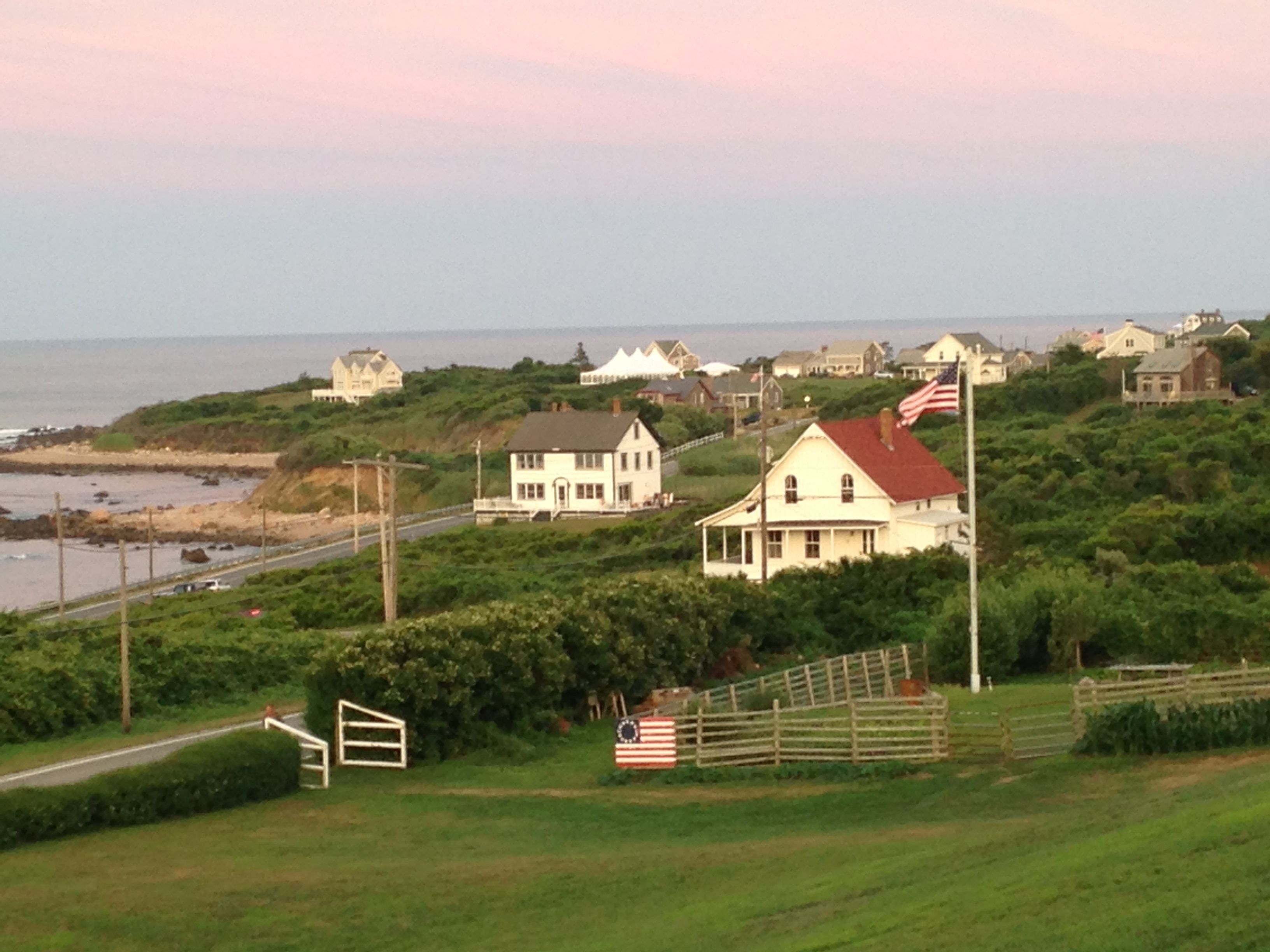 View From The Spring House In Block Island, RI
