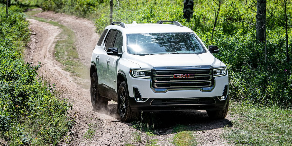 2020 Gmc Acadia At4 Is More Show Than Actual Off Road Capability Gmc Offroad Chevrolet Traverse