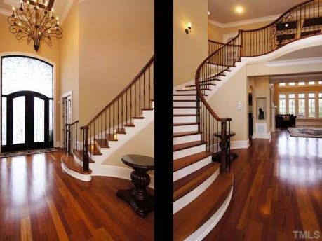 Brazilian Cherry Floors I Love Them They Are Fabulous But What A Pain To Keep Clean Scraped Hardwoods Are So Much Easier Bedroom Ideas