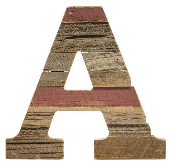 Cypress Barnwood Letter A - Paul Michael Company