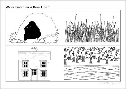 We Re Going On A Bear Hunt Sequencing Sheets Sb11080 Sparklebox Sequencing Pictures Bear Hunt Song Bear