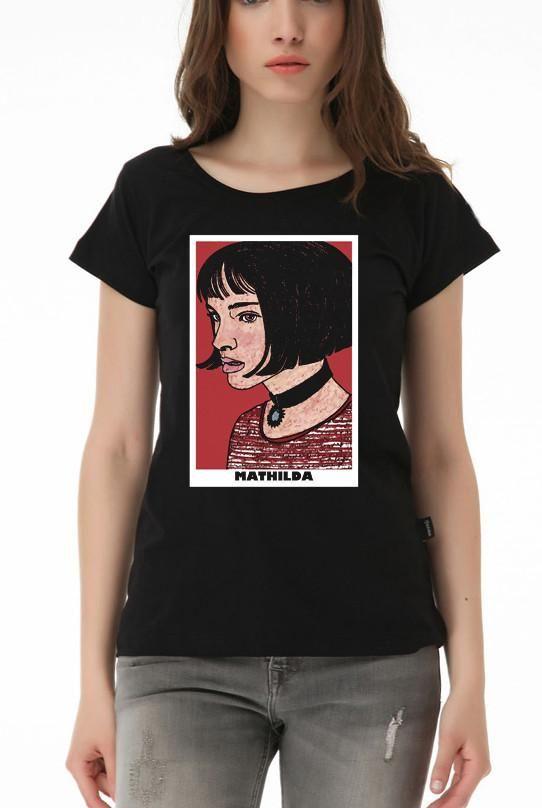 50b84340c77 Mathilda Portrait Leon - The Professional Girls T-shirt