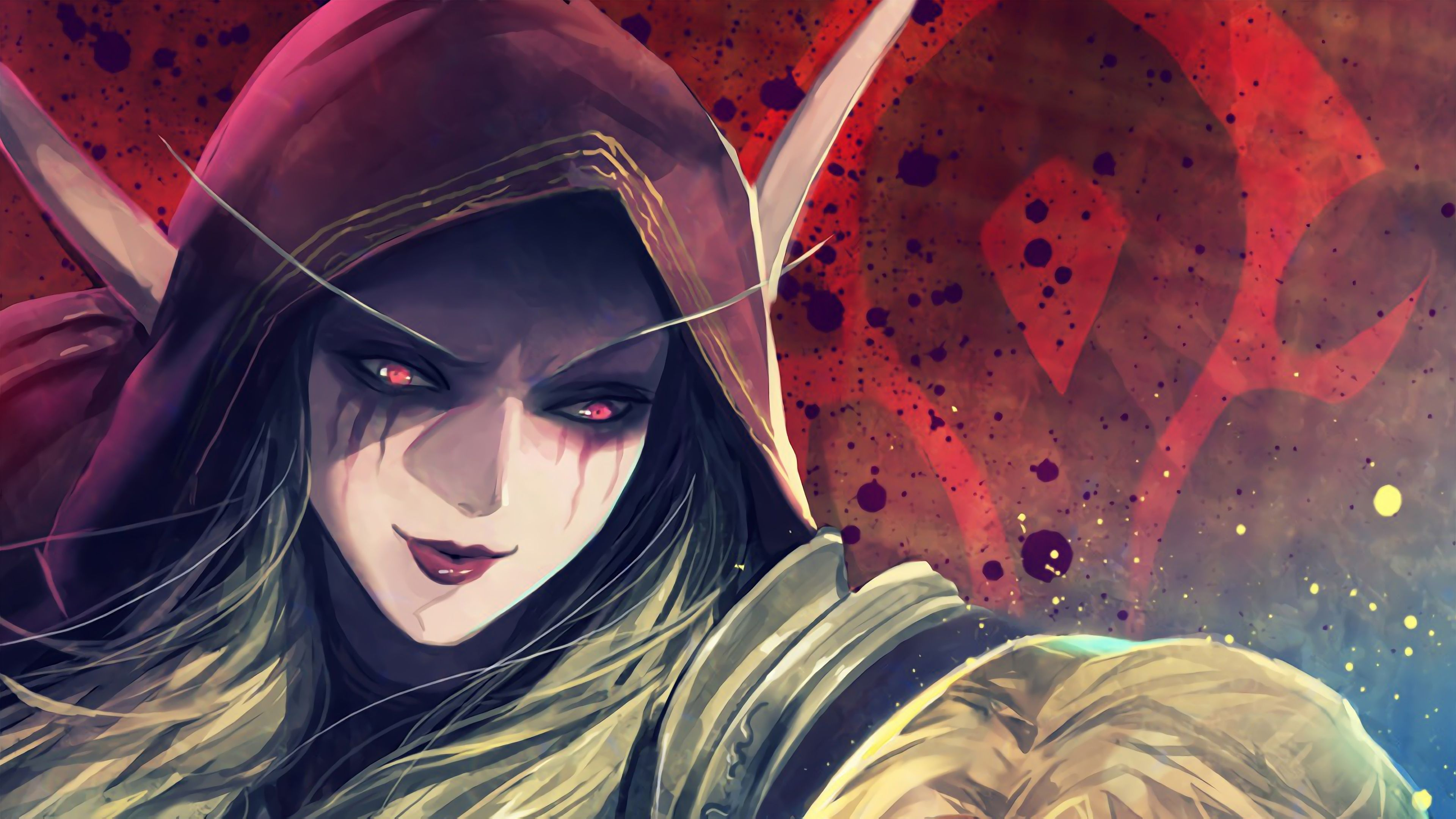 Sylvanas Windrunner Horde World Of Warcraft Battle For Azeroth Wow Video Game 3840x2160 Wallpaper Sylvanas Windrunner Warcraft World Of Warcraft