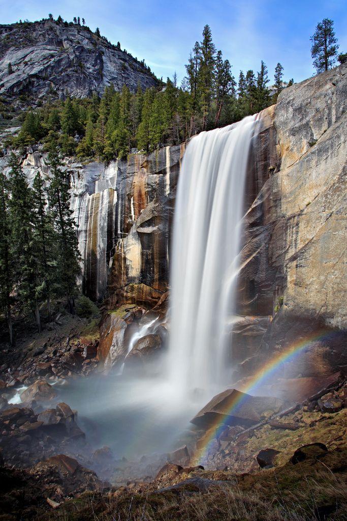 Vernal Falls - Yosemite CA