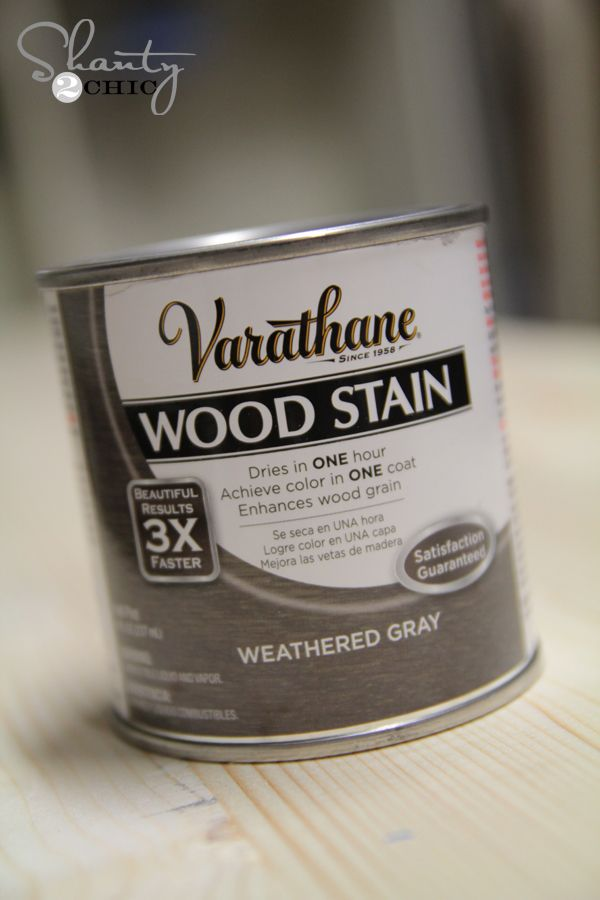 New Charcoal Gray Stain