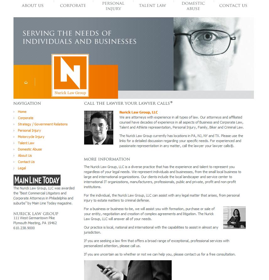 Nurick Law Group Digital