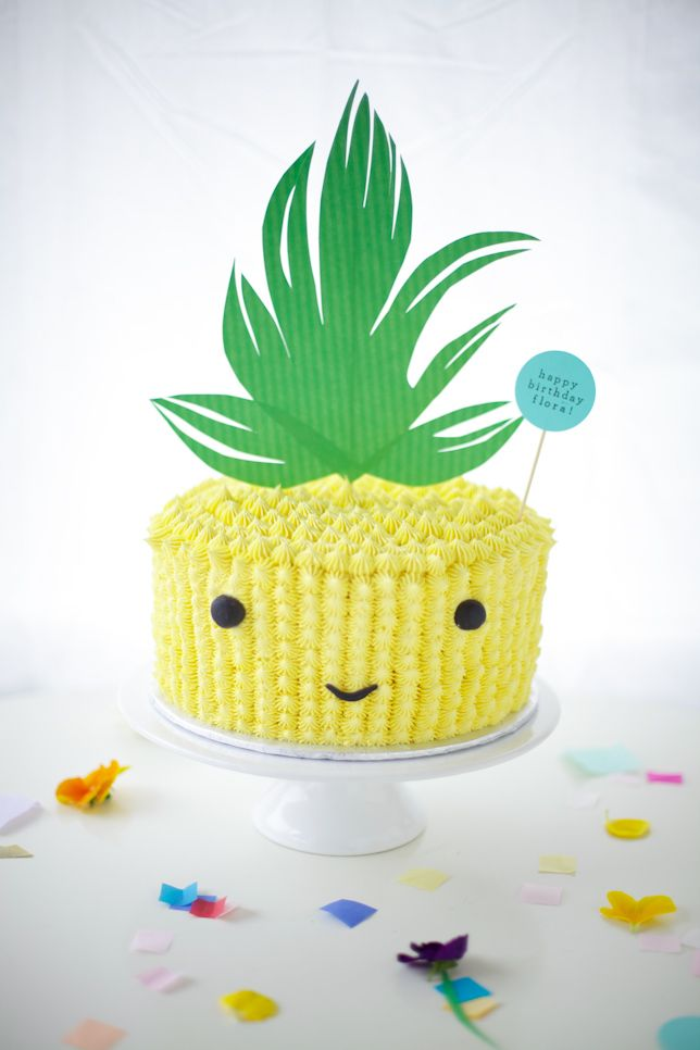 Look Who 39 S Talking Four Pineapple Cake Coco Cake Land