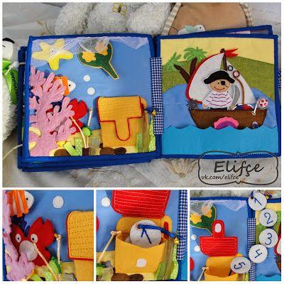 Workshop Elifçe: Big Quiet book №10 for boy!