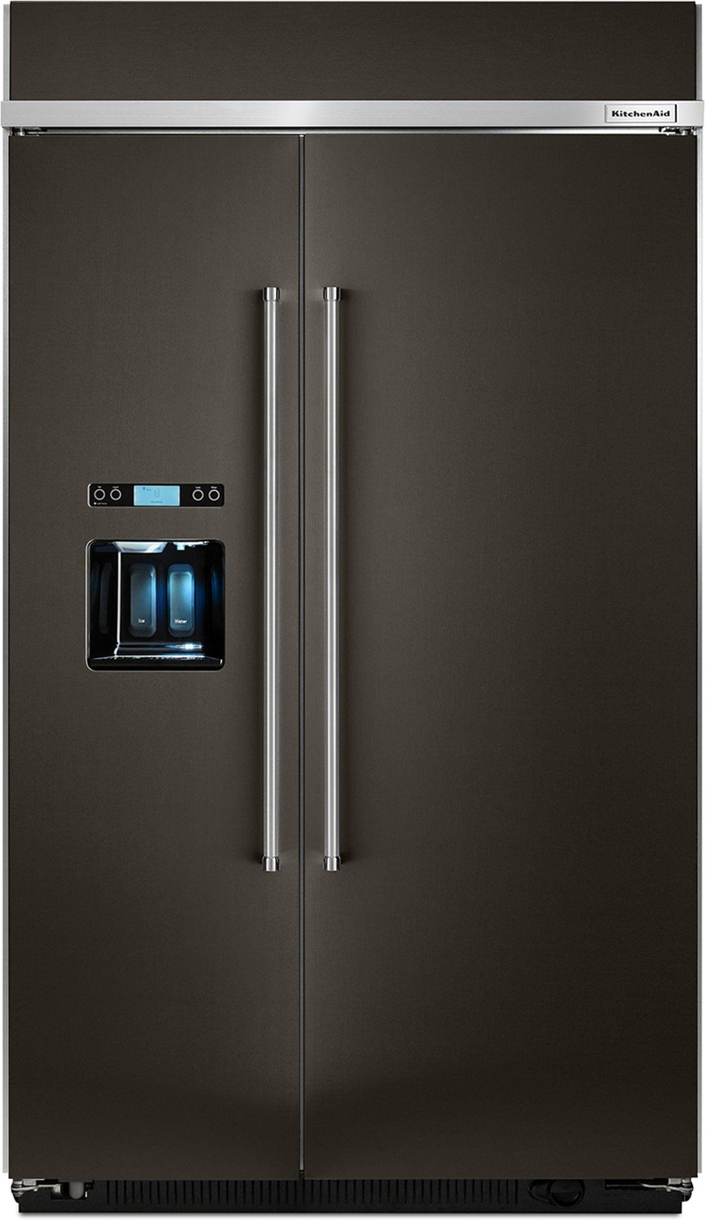 Kbsd608ebs by kitchenaid sidebyside refrigerators