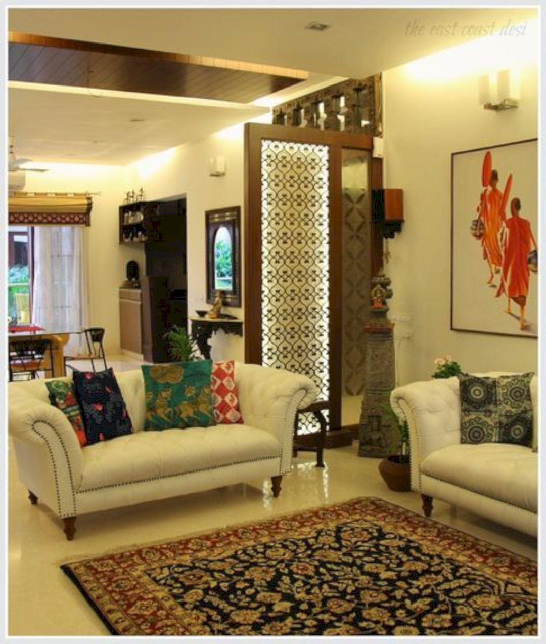 7 Home Decor Ideas For Your Living Room Indian Interior Design Indian Living Rooms Indian Style Living Room