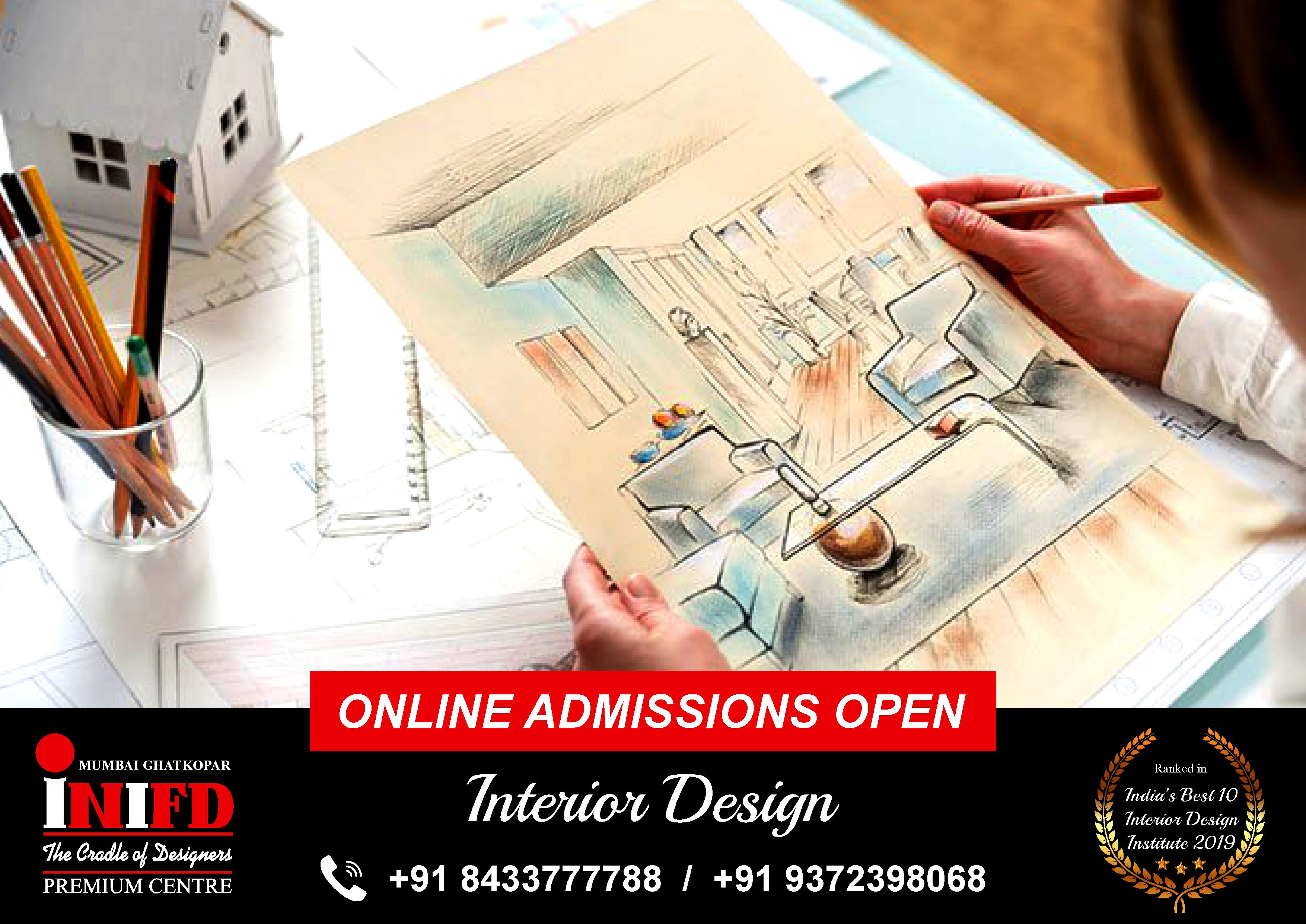 Looking For The Best College In Mumbai For Interior Designing Courses Join Inifd Mumbai Ghatkopar Online In 2020 Interior Design Institute College Fun Admissions