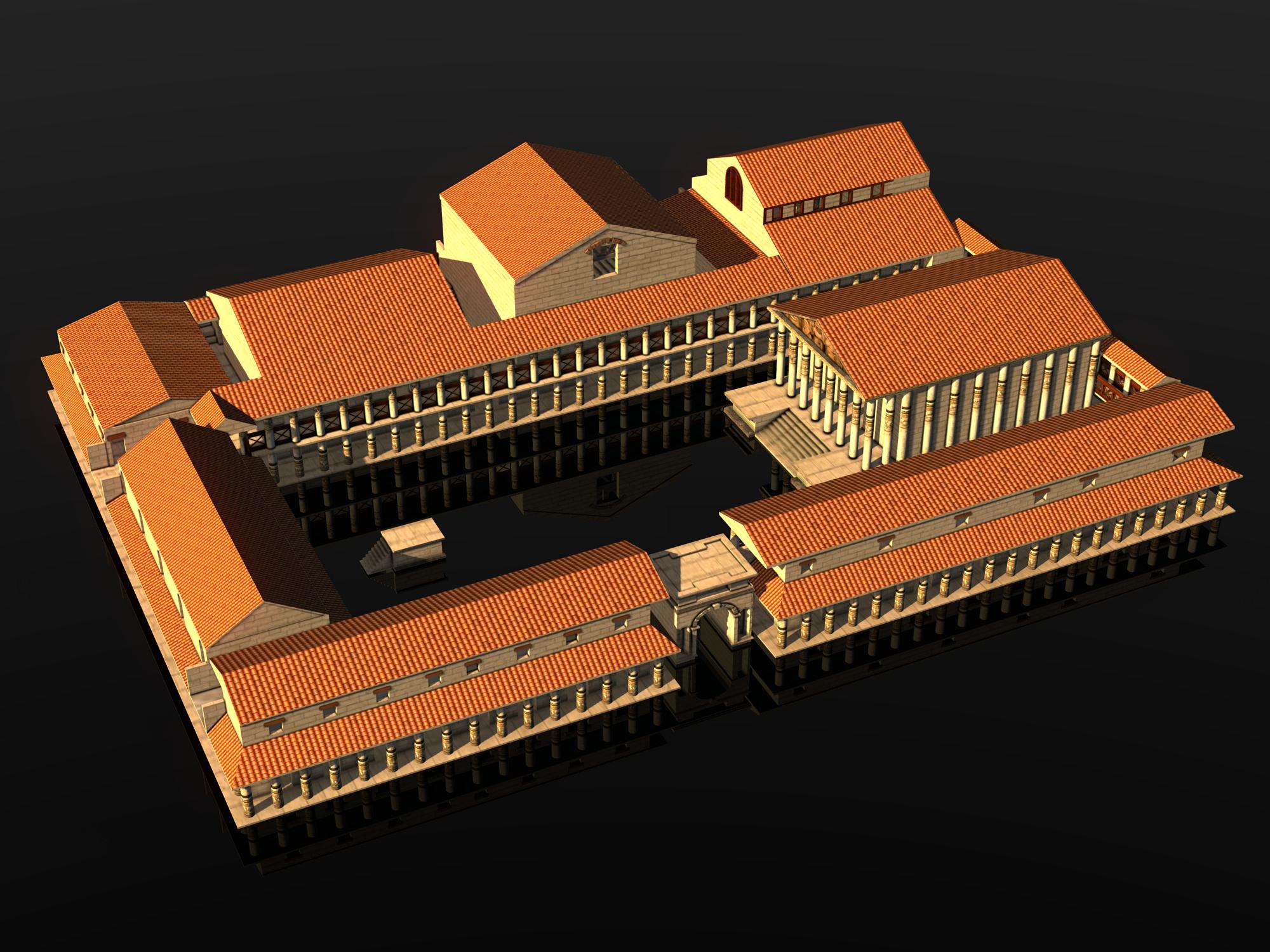 forum romanum 3d model - Hledat Googlem | Forum Romanum ...