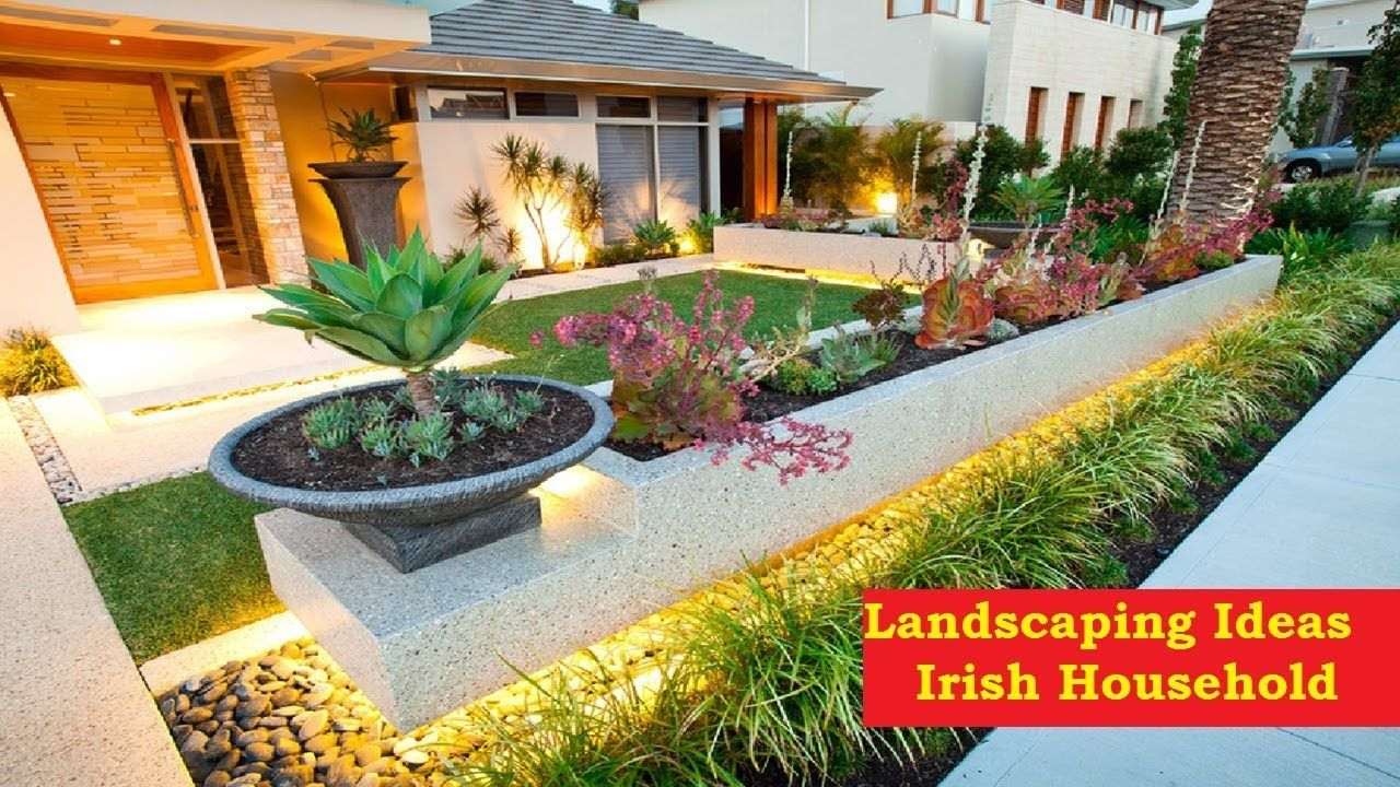 23 Pleasing Garden Design & Landscaping Ideas For Irish ...