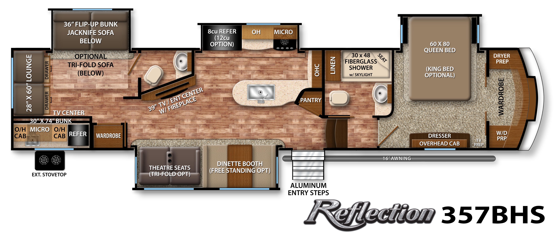 Reflection Fifth Wheel Specifications Grand Design Rv Dream