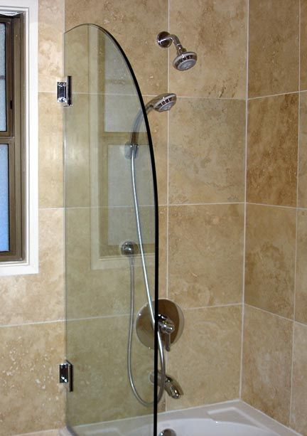 Image Detail For  Frameless Glass Tub/Shower Doors?