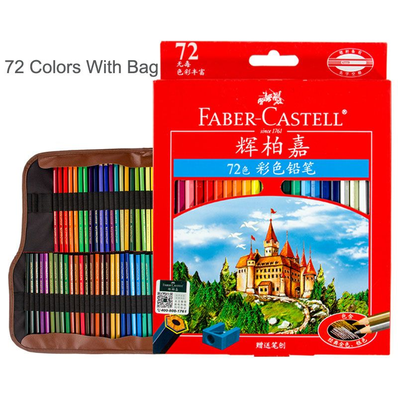 Check Price Faber Castell Lapices 72 Oil Based Colored Pencil