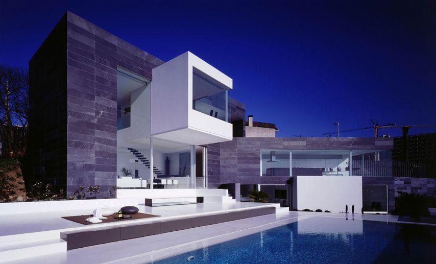 Casa a Coruna 1999 by Joaquin Torres & Rafael Llamazares Architects ...