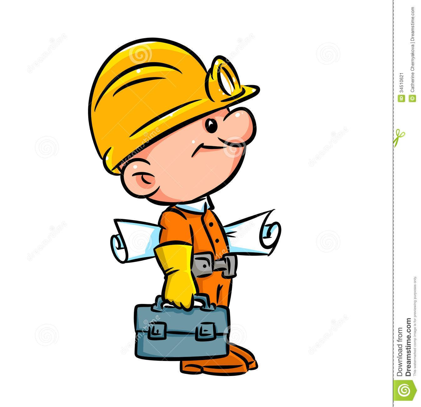 Planning Engineer Cartoon Clip Art