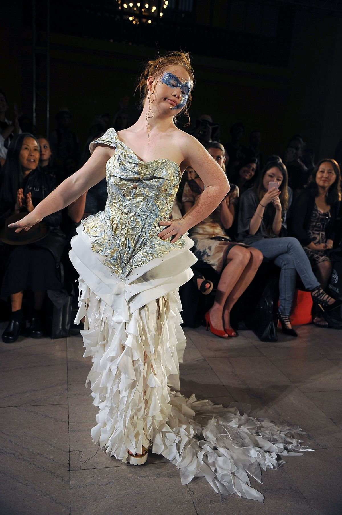 Down s Syndrome model Madeline Stuart wows New York Fashion Week ... f8596a9719b6