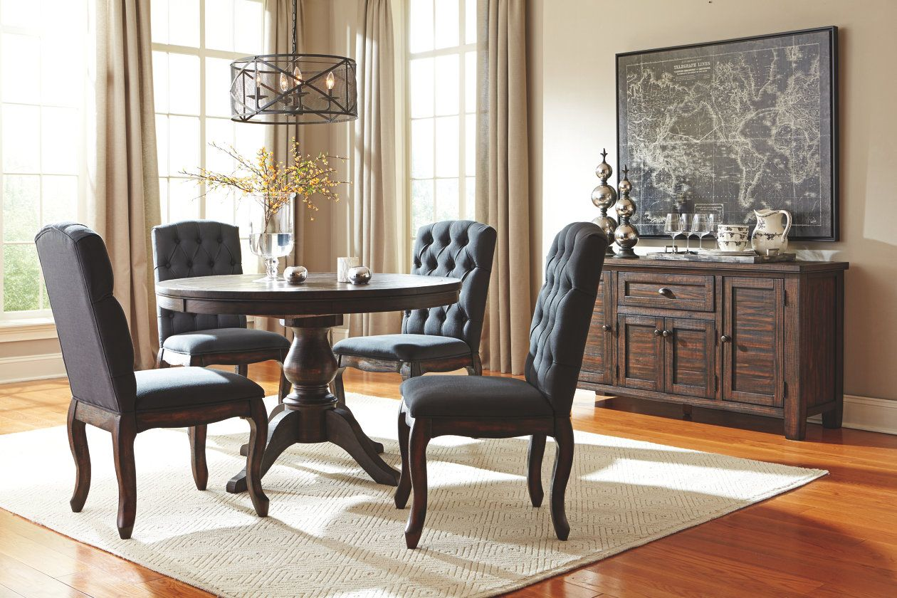 Trudell Dining Room Chair Ashley Furniture Homestore Dining