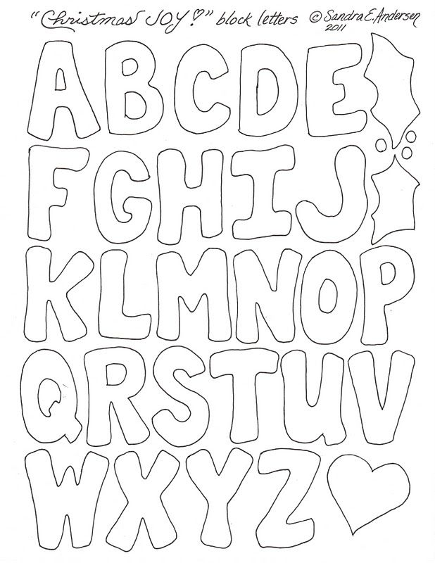 block letter template paper play lettering letter templates