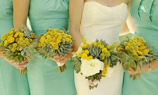 Mint Green Weddings Love This Color Pallet