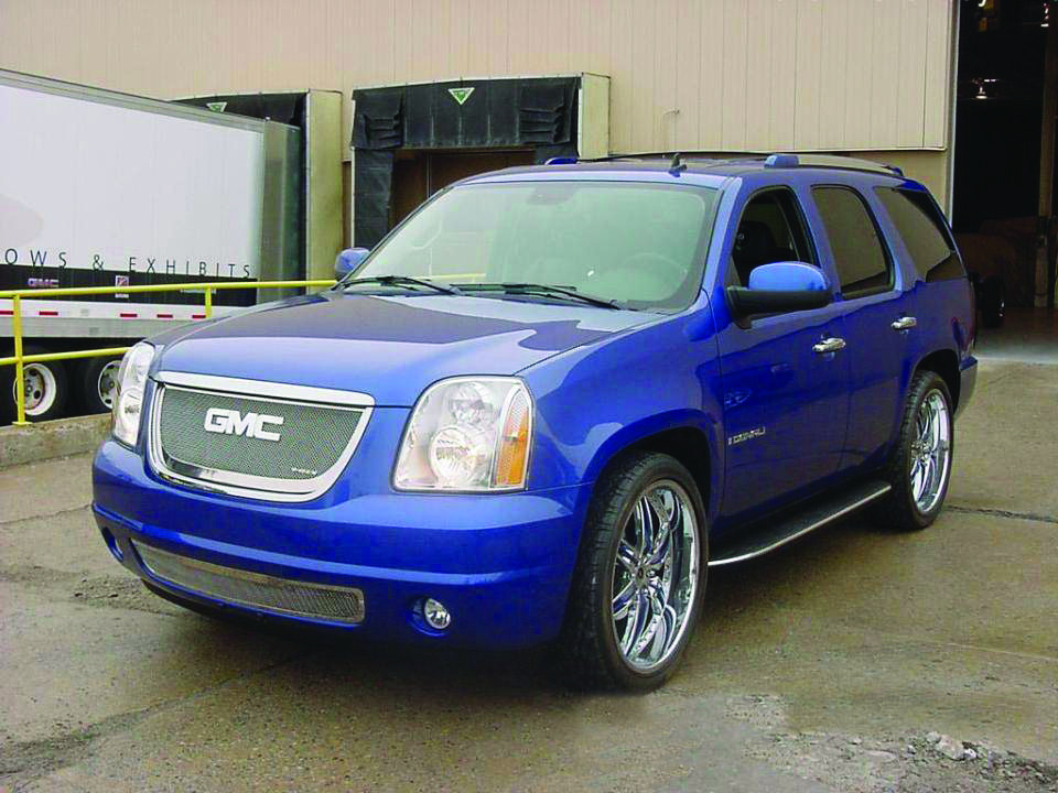 Jayz Blue Yukon Xl Denali Jackson Lot 1531 1 2007 Gmc