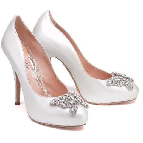 Scarpe Sposa Beatrice.Beatrice 120mm Heel In Pearlised Leather Scarpe Da Matrimonio