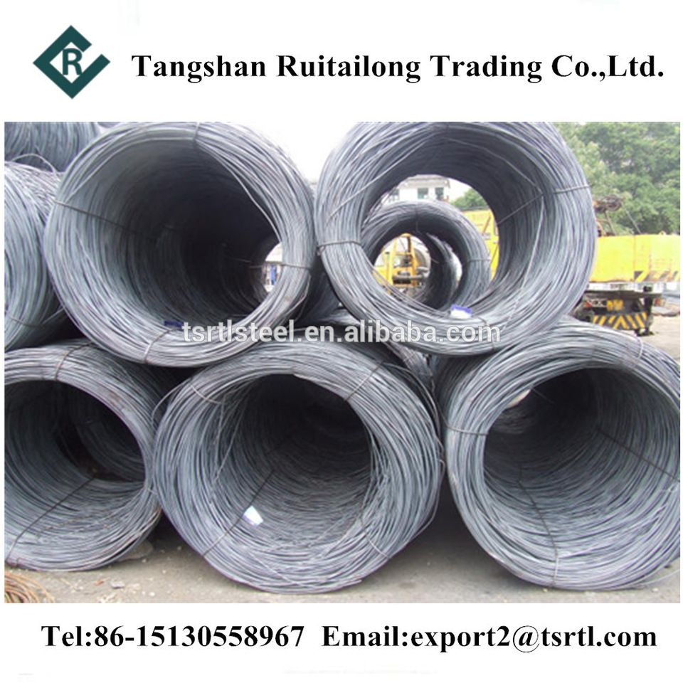 SAE1008 Wire Rod 5.5mm Low Carbon Wire Rod Steel Coil Hot Rolled ...