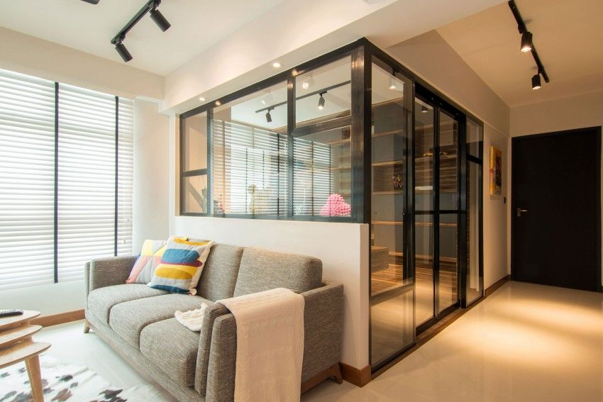 Stylish Home for a Young Couple in Singapore Singapore Apartments