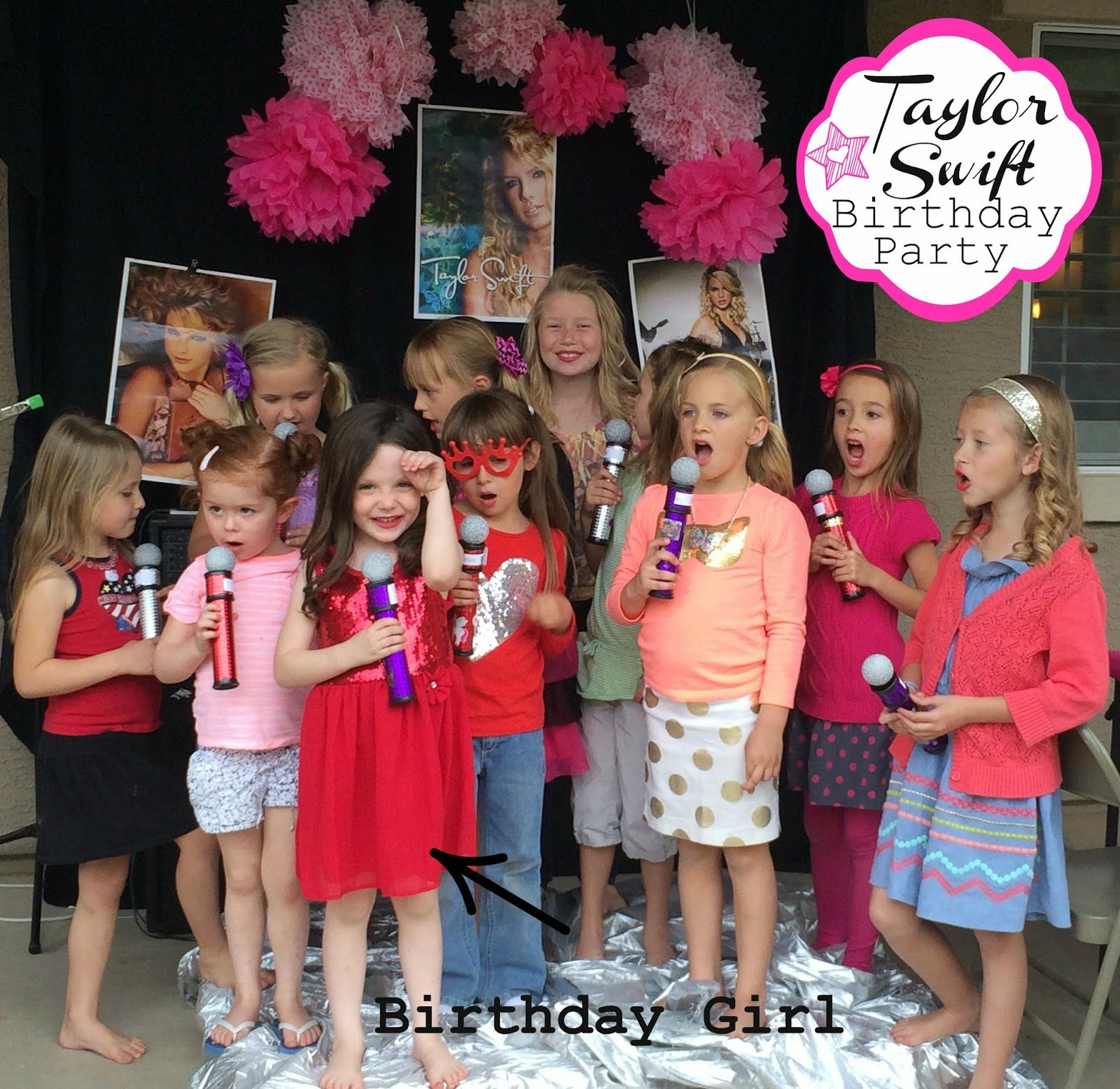 A Taylor Swift Themed Birthday Bash From Marci Coombs Blog For