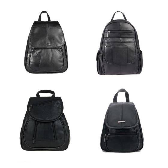 OBC DAMEN Rucksack ECHT LEDER LADY BAG im Auswahl Tasche Lederrucksack Schultertasche Ledertasche 20 verkauft in den letzen 23 Stunden #womensfashion