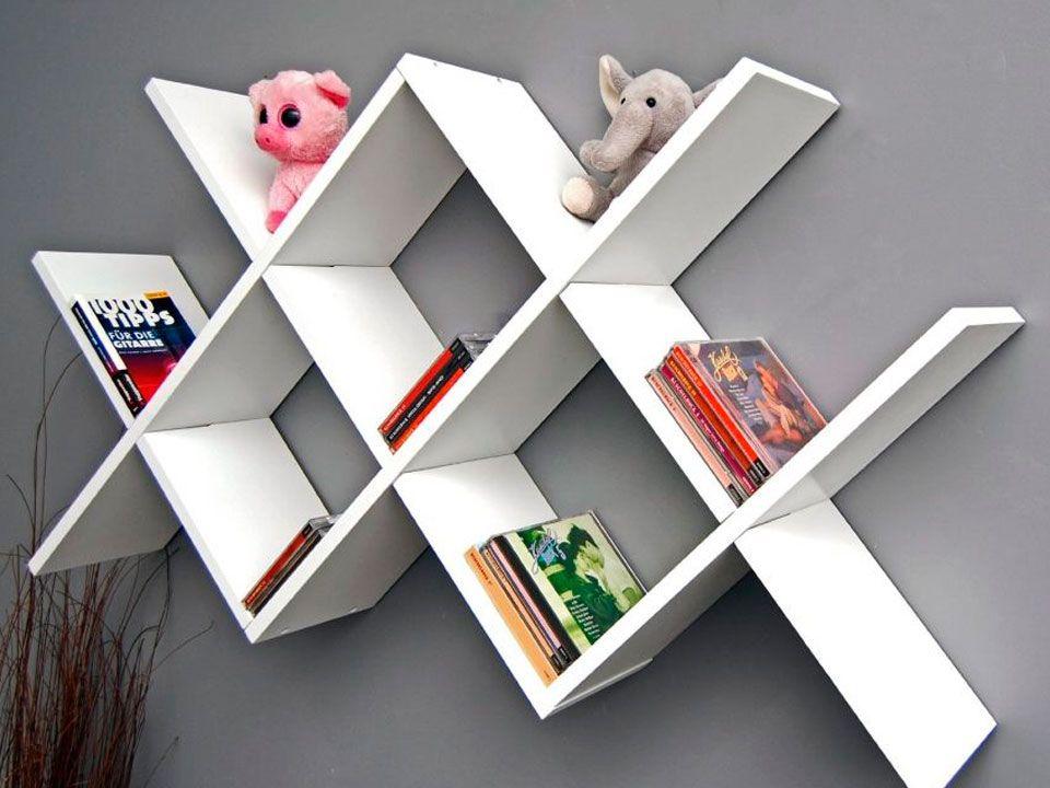 Resultado de imagen para librero moderno rack for Libreros minimalistas para oficina